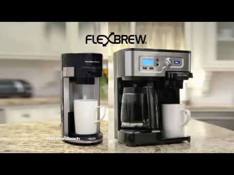 Hamilton Beach FlexBrew Coffeemaker 2014 TV Ad (60 sec)