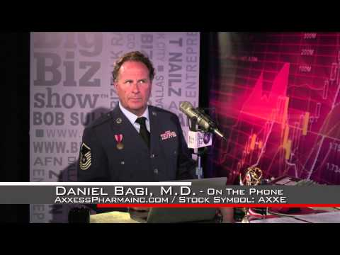 Big Biz Radio Interview with Axxess Pharma Pres. Dr. Daniel Bagi, MD