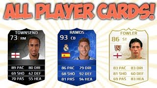 FIFA 14 - ALL PLAYER CARDS