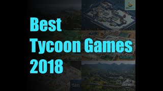 Best New Tycoon Simulation Management Games 2018