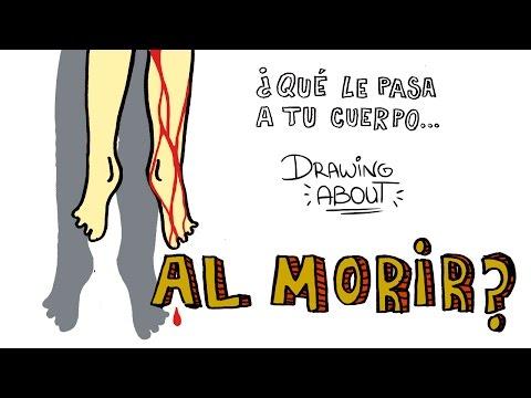 ¿QUÉ LE PASA A TU CUERPO AL MORIR? | Drawing About