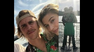 Justin Bieber with Hailey Baldwin & taking pictures with fans in Williamsburg Brooklyn June 16 2018