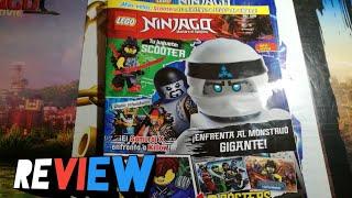 REVIEW DE LA REVISTA 5 DE LEGO NINJAGO  AGOSTO   Controx Games  