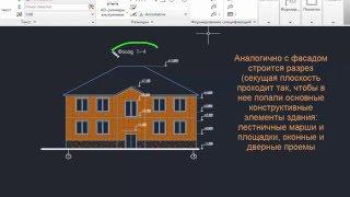 видео Виды разрезов применяемых на чертеже детали - ГОСТ 2.305-2008 Единая система конструкторской документации (ЕСКД). Изображения - виды, разрезы, сечения