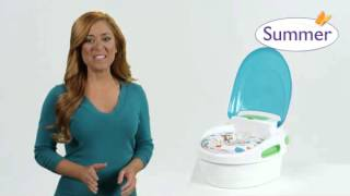 Summer Infant Step By Step Potty Demo Video