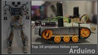Top 10 projetos feitos com Arduino