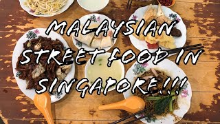 Famous MALAYSIAN STREET FOOD in SINGAPORE!!!