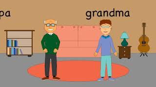 СЕМЬЯ Мультфильм английский для детей, обучение, английский язык для малышей