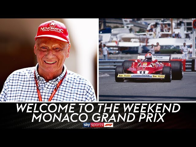 The F1 community pays tribute to Niki Lauda | Monaco Grand Prix | Welcome To The Weekend