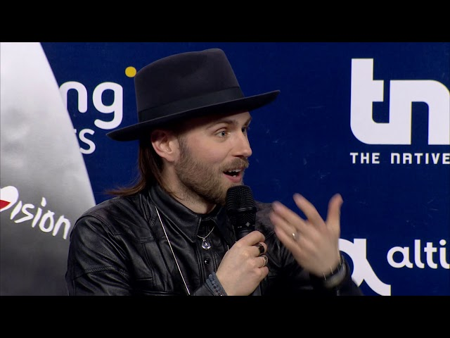 Gromee featuring Lukas Meijer | Polónia | Press Conference | Eurovisão 2018