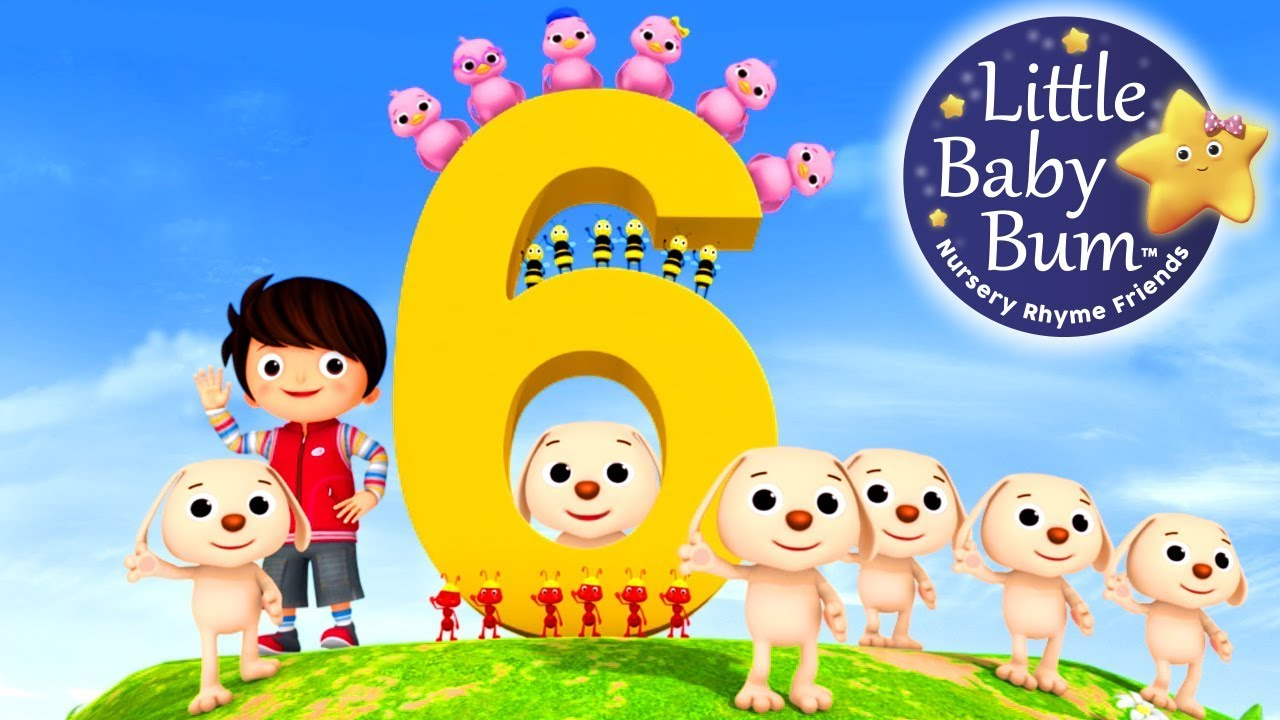 Number 6 Song Little Baby Bum Nursery Rhymes For