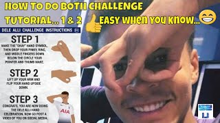 HOW TO DO THE DELE ALLI CHALLENGE 2 👌🖖 Easy when you know how 😉