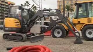 Volvo Compact Excavator EC27C Presentation