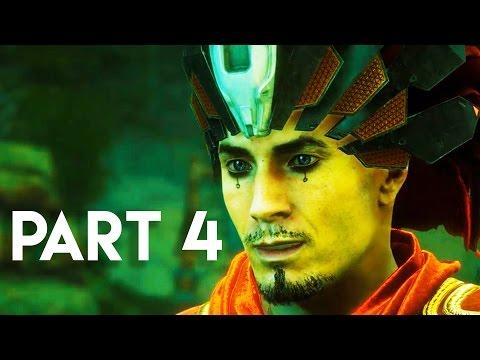Horizon Zero Dawn Walkthrough Gameplay Part 4 - The Secret Armor (PS4 PRO Gameplay)