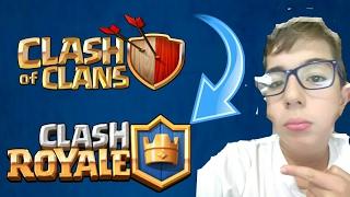 Clash Royale e Clash of clans tudo junto e misturado #12