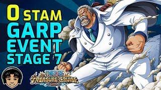 Walkthrough for Garp 0 Stamina Stage 7 Free To Play! [One Piece Treasure Cruise]