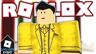 [LIVE-OPS] HOW TO GET THE GOLD SUIT IN AGENTS   Roblox