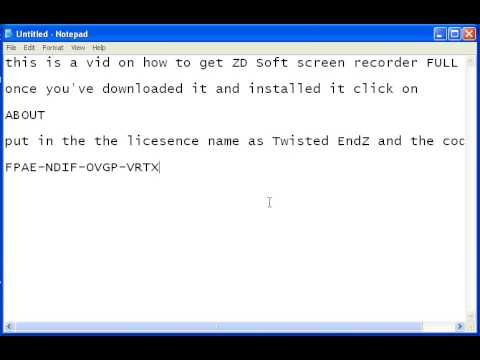 How to get ZD Soft screen recorder FULL!!!