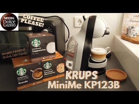 KRUPS NESCAFÉ® Dolce Gusto® Mini Me Grey/Black Starbucks | UNBOXING, CLEANING U0026 TESTING