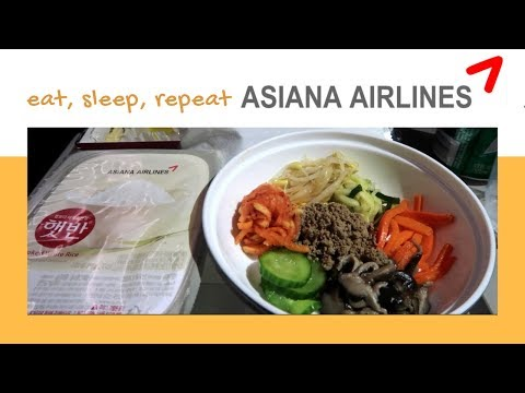 Asiana Airlines Experience | Bay Với Asiana Airlines 🥞🎬