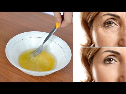 Learn how to get facial stains and wrinkles naturally with this recipe.