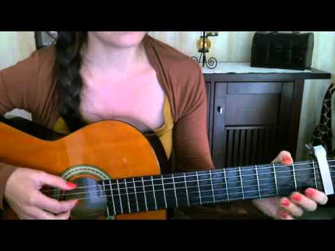 Shontelle, impossible, Tutorial, Gitarre, guitar, how to play, wie ...