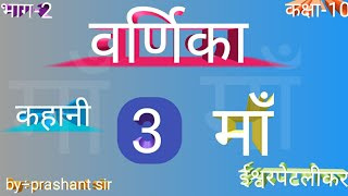 Class 10th Hindi(varnika bhag÷2) MA chapter