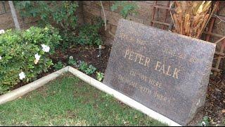 TDW 1253 - Peter Falk : Columbo Grave Site