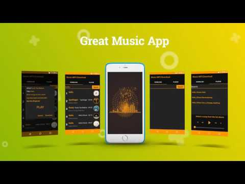 Download and Listen Music Application for Android Phone and Tablet