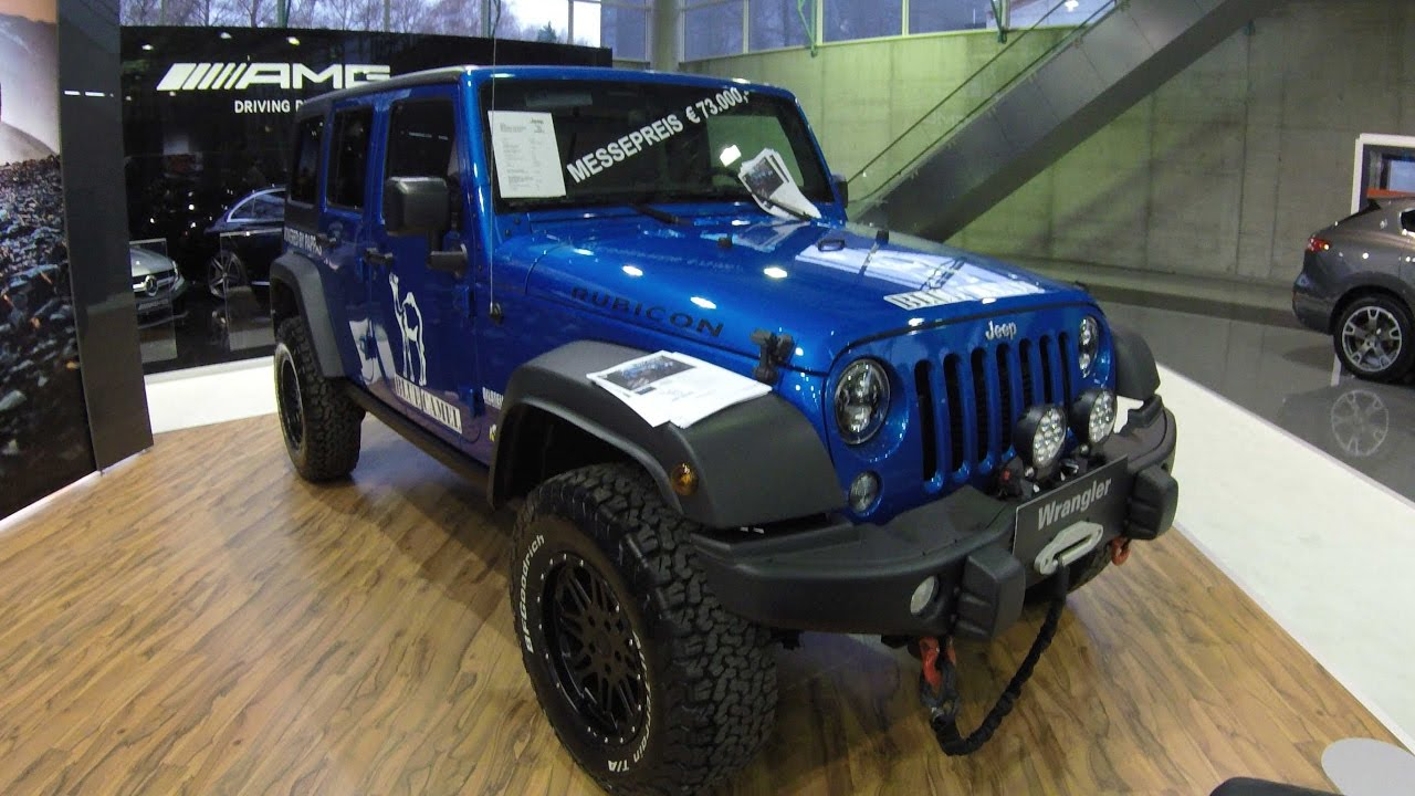 jeep wrangler unlimited compilation 2 original rubicon and offroad tuning hydro blue 2017. Black Bedroom Furniture Sets. Home Design Ideas