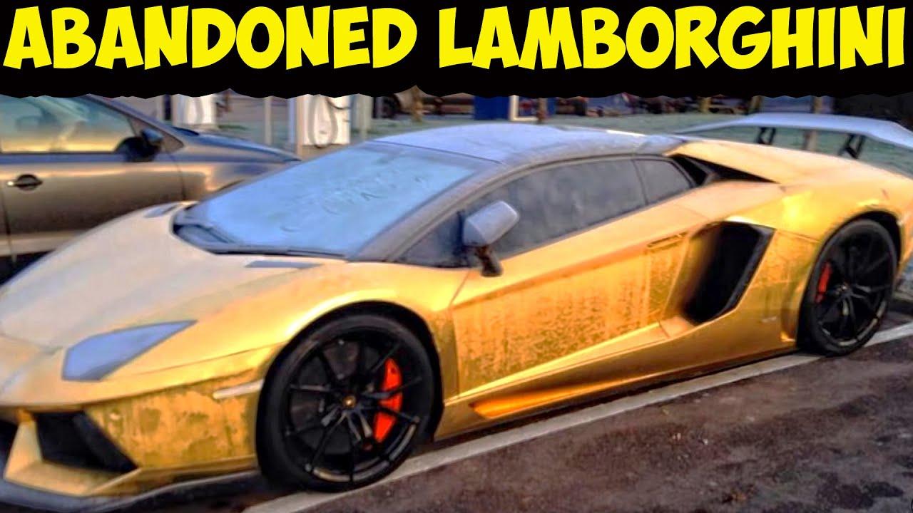 Abandoned lamborghini. Exotic cars abandoned - YouTube