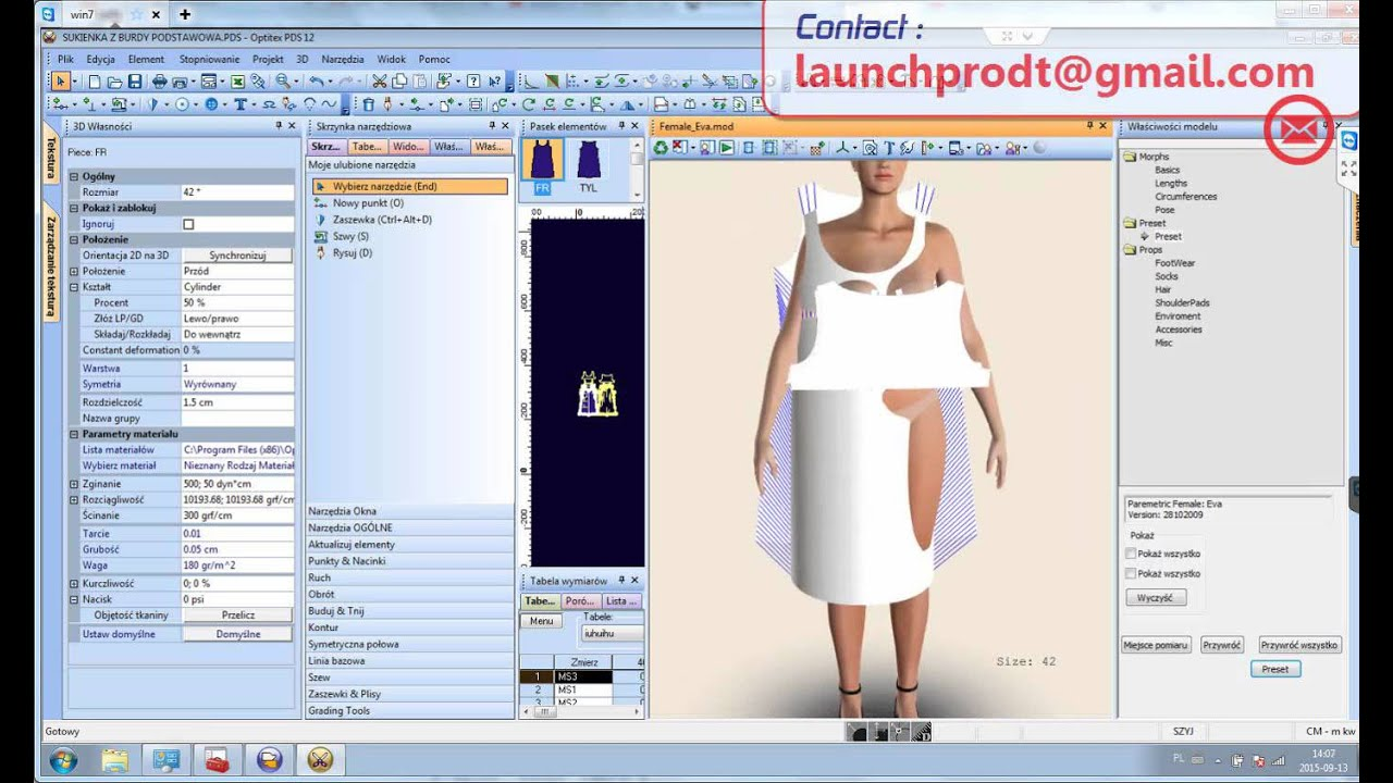 Cad fashion design tutorial 77
