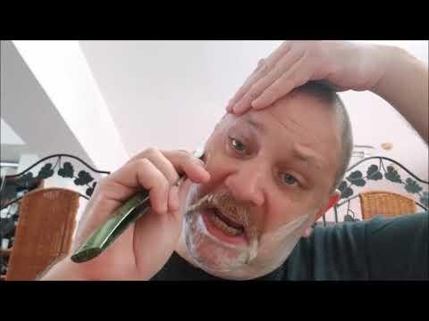 Martinez Blades Straight Razor Test Shave