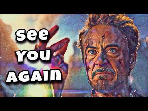 Tony Stark || See You Again (Iron Man)