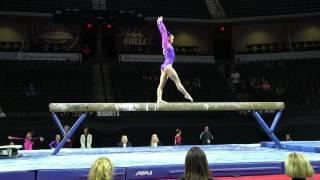 Kara Eaker – Balance Beam – 2017 U.S. Classic – Junior Competition