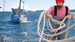 Can You TOW A SAILBOAT With Another Sailboat? - Sailing Vessel Delos Ep. 304