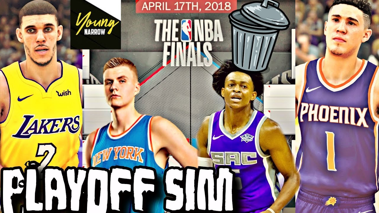 WHAT IF ALL OF THE BAD NBA TEAMS WERE IN THE PLAYOFFS  SIMULATION ON NBA  2K18 e960855bb