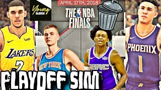 WHAT IF ALL OF THE BAD NBA TEAMS WERE IN THE PLAYOFFS? SIMULATION ON NBA 2K18