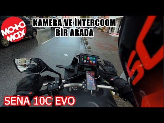 Sena 10C Evo İnceleme // Vlog Çekmek İsteyenlere Müjde ! #Motomax