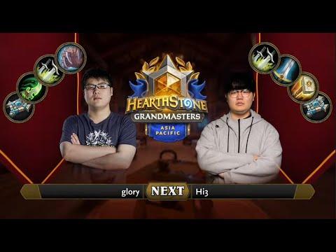 glory vs Hi3 | 2021 Hearthstone Grandmasters Asia-Pacific | Semifinal | Season 1 | Week 6
