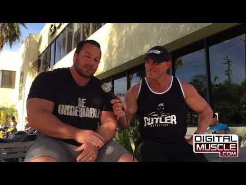Jimmy Madsen Jr  on Muscle Beach TV
