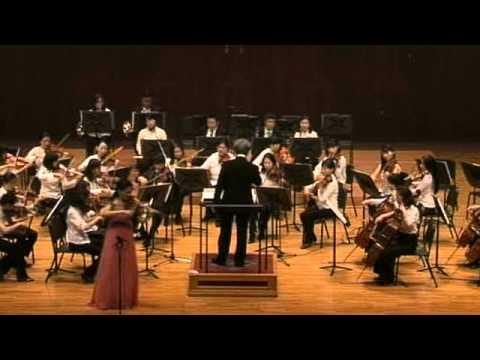 Kyung Sun Lee/Daejin Kim - Mozart Vln Concerto No. 3, (i)