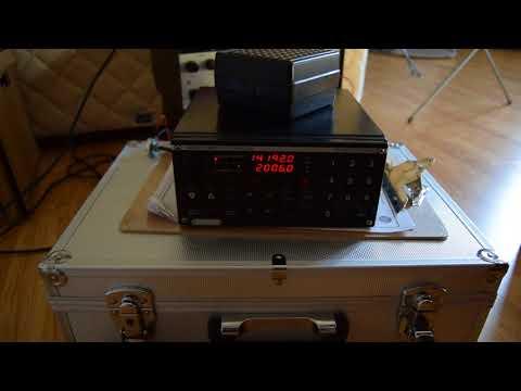 Sailor RE2100 receiving ham radio ssb