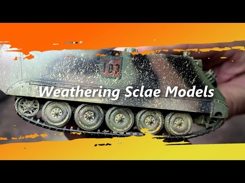 Scale Model Armour Weathering