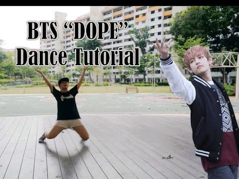 BTS(방탄소년단)-DOPE(쩔어) Dance Tutorial | FULL Mirrored [Charissahoo]