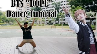 bts 방탄소년단 dope 쩔어 dance tutorial   full mirrored charissahoo