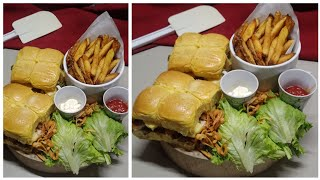 Burger 3 ways - Keto Burger, All Meat and Burger with veggies