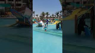 Аквапарк в отеле Golden 5 Paradise Хургада Египет
