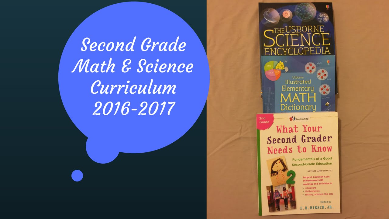 Our Second Grade Curriculum 2016-2017 - Math & Science - YouTube