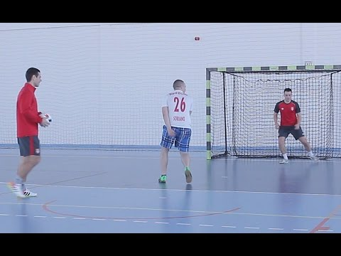 SERBIAN vs Professional Futsal Player (SERBIA FUTSAL TEAM) PENALTY CHALLENGE ! ! !